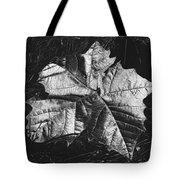 Sycamore Leaf Digital Tote Bag