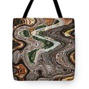 Sycamore Tree Abstract # 9283 Tote Bag