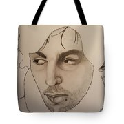 Syd The Crazy Diamond Tote Bag
