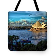 Sydney Harbor And Opera House Tote Bag