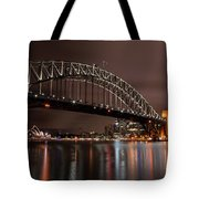 Sydney Harbor At Night Tote Bag
