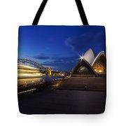 Sydney Opera House At Night Tote Bag