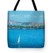 Sydney Harbour And The Opera House Vacation Tote Bag