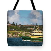 Sydney Harbour Panorama Tote Bag