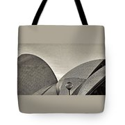 Sydney Opera House Roof Detail Tote Bag