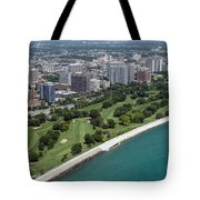 Sydney R. Marovitz Golf Course  Tote Bag