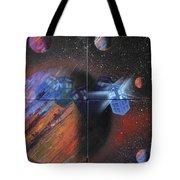 Syfy- Tardis Tote Bag