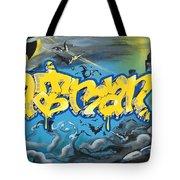 Sykotik And Pystoff Batman Tote Bag