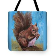 Sylas Saves For Winter Tote Bag