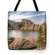 Sylvan Lake View Tote Bag