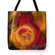 Symbiosis Abstract Art Tote Bag