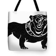 Symbol: Bulldog Tote Bag