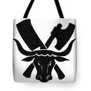 Symbol: Butcher Tote Bag