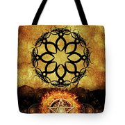 Symbols Of The Occult Tote Bag