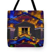 Symmetry In Chaos Tote Bag