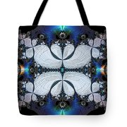 Symmetry In Circuitry Tote Bag
