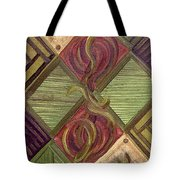 Symmetry In The Storm Tote Bag