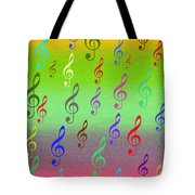 Symphony Of Colors Tote Bag