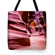 Antelope Canyon Light Tote Bag