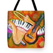 Symphony Of The Soul Tote Bag