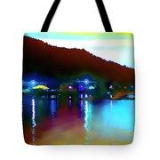 Symphony River Tote Bag