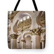 Synagogue Of St Mary The White Tote Bag