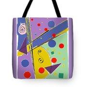 Syncopated Rhythm Tote Bag