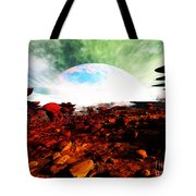 Syn's Moon Tote Bag