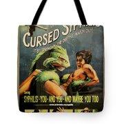 Syphilis Poster Tote Bag