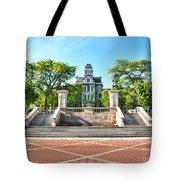 Syracuse University Hall Of Languages Tote Bag