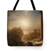 Syria By The Sea Tote Bag by Frederic Edwin Church