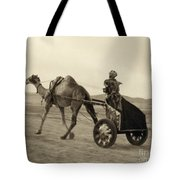Syria: Camel Race, C1938 Tote Bag
