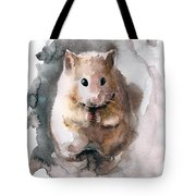 Syrian Hamster Tote Bag