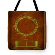 System Of Electrical Distribution Patent Drawing 1e Tote Bag