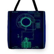 System Of Electrical Distribution Patent Drawing 2a Tote Bag