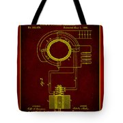 System Of Electrical Distribution Patent Drawing 2b Tote Bag