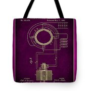 System Of Electrical Distribution Patent Drawing 2c Tote Bag