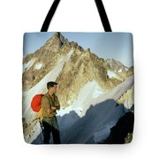 T-504412 Walt Buck Sellers At Bivouac Site Tote Bag