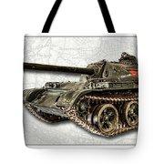 T-54 Soviet Tank W-bg Tote Bag