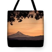 Mt. Hood At Sunset Tote Bag