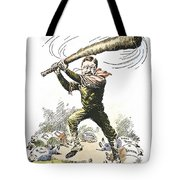 T. Roosevelt Cartoon, 1904 Tote Bag by Granger