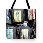 T Shirt Display Day Of Dead Tote Bag