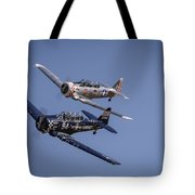 T6s At Reno Air Races Tote Bag by John King