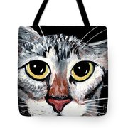 Tabby Eyes Tote Bag