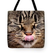 Tabby Kitty Cat Cute Funny Face Tote Bag