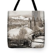 Tabernacle And Temple Tote Bag