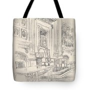 Table And Chair, Signers' Room, Independence Hall Tote Bag
