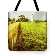 Table Cape Lighthouse Tote Bag
