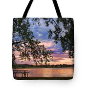 Table For Four With A View Tote Bag