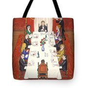 Table For Ten Tote Bag